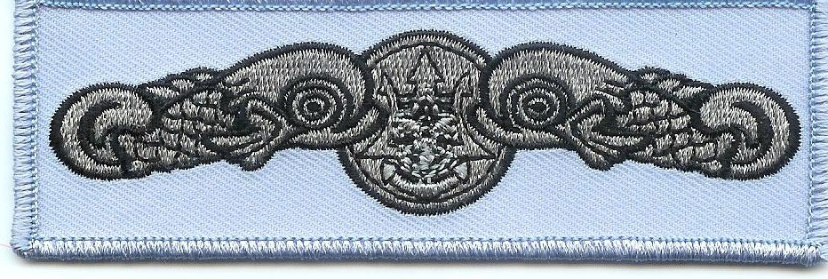 Chambray seal patch