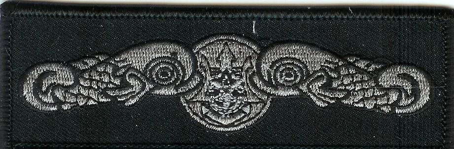 Black seal patch
