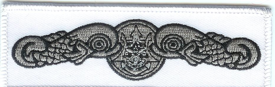 White seal patch
